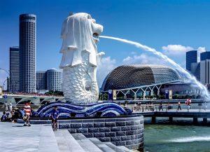 biểu tượng của đất nước singapore